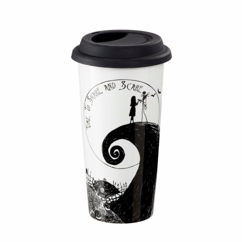 NIGHTMARE BEFORE CHRISTMAS : Travel Mug 400ml - Time to Share_1