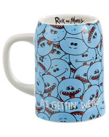 RICK & MORTY - Chope 590ml - Mr. Meeseeks