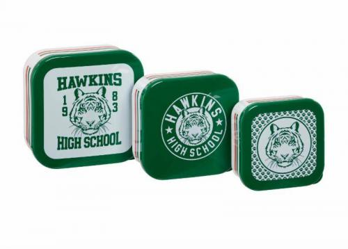 STRANGER THINGS - Hawkins High School - Boîtes de rangement