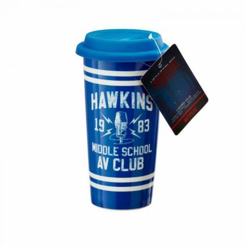 STRANGER THINGS - Hawkins AV Club - Mug de voyage