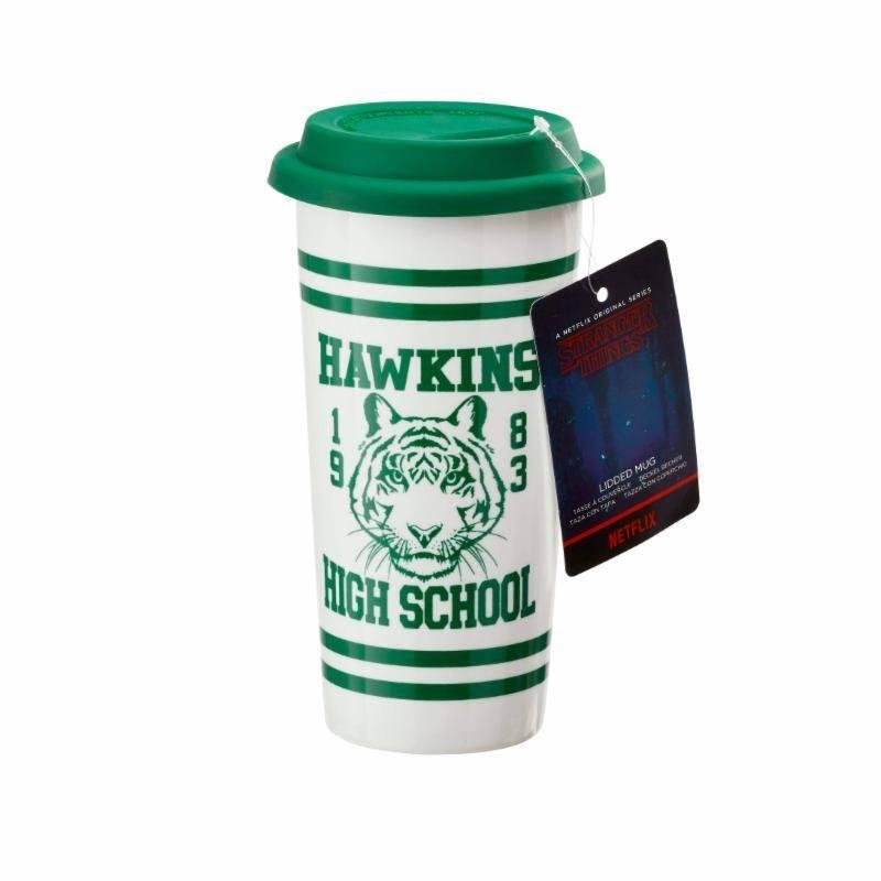 STRANGER THINGS - Travel Mug - Hawkins High School