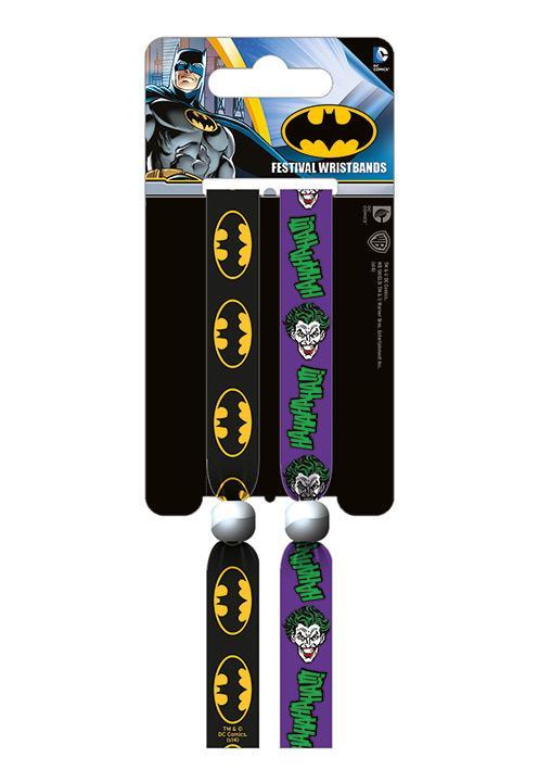 BATMAN - Pack 2 Bracelet en Tissu - Batman