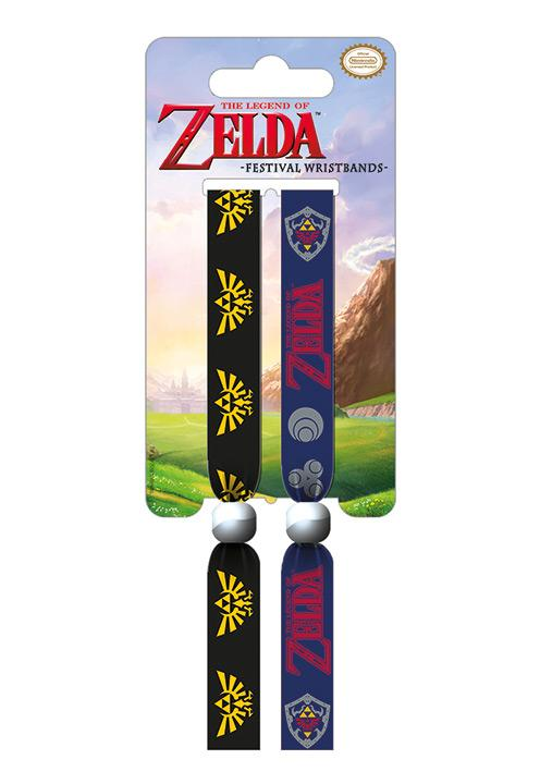 ZELDA - Pack 2 Bracelet en Tissu - The Legend of Zelda