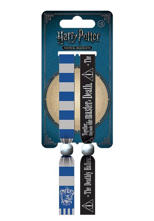 HARRY POTTER - Pack 2 Bracelet en Tissu - Ravenclaw