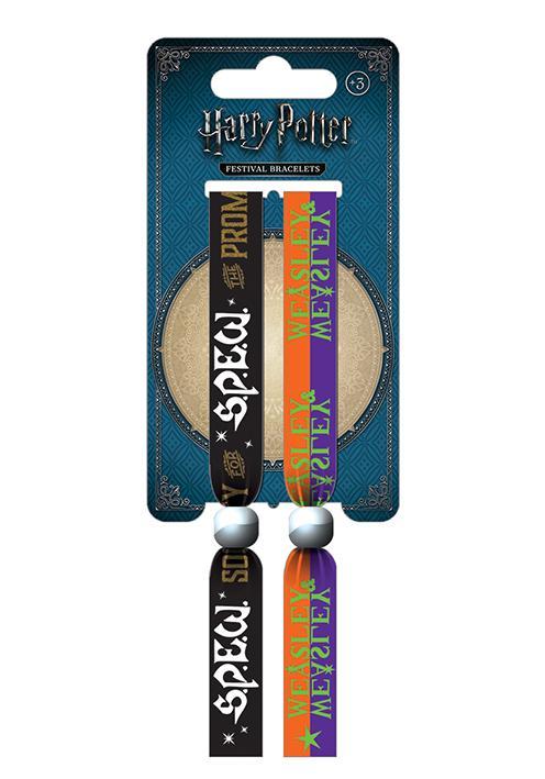 HARRY POTTER - Pack 2 Bracelet en Tissu - SPEW