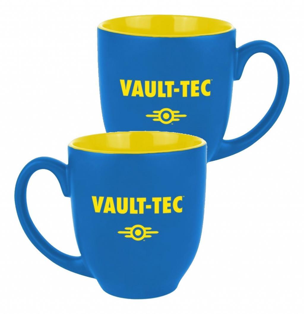 FALLOUT - Mug 380 ml - Vault-Tec Blue/Yellow