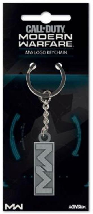 CALL OF DUTY: MODERN WARFARE - Metal Keychain - Logo