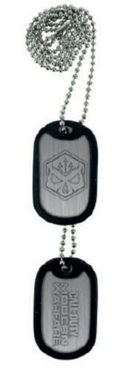 CALL OF DUTY: MODERN WARFARE - Dog Tags - Logo