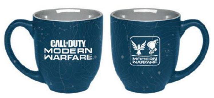 CALL OF DUTY: MODERN WARFARE - Mug 400 ml - Maps Two Color_1