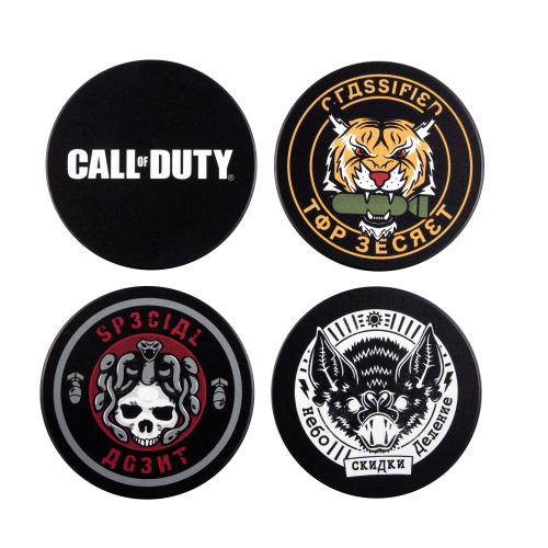 CALL OF DUTY COLD WAR - Pack de 4 sous-verres