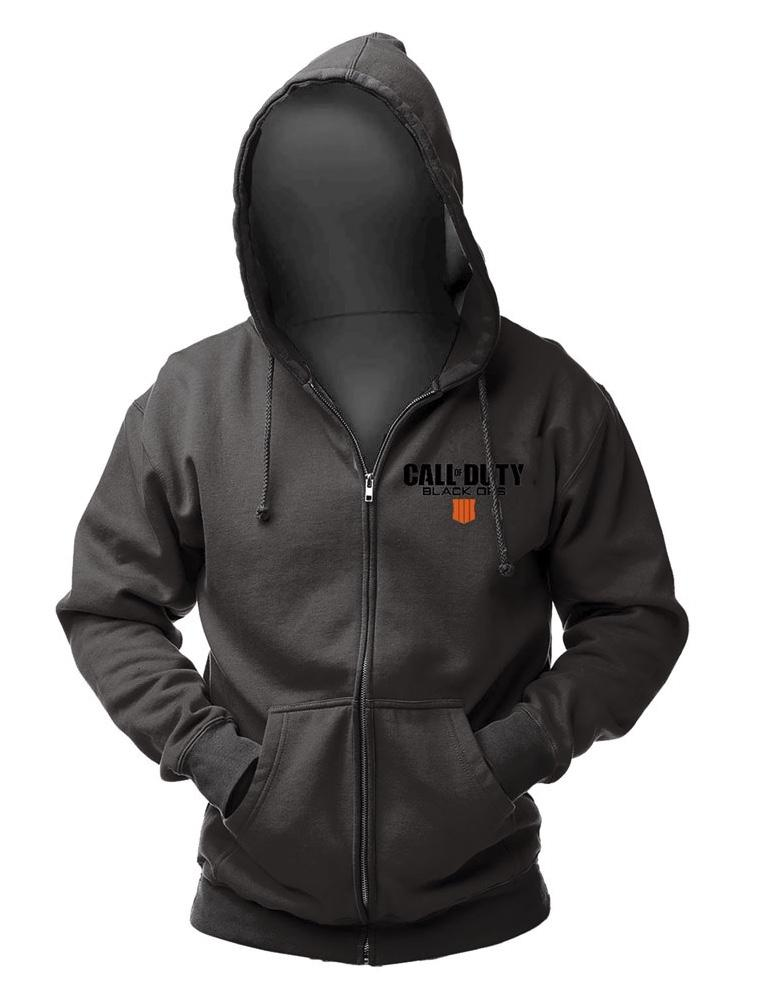 CALL OF DUTY BLACK OPS 4 - Zipper Hoodie - Patch (S)