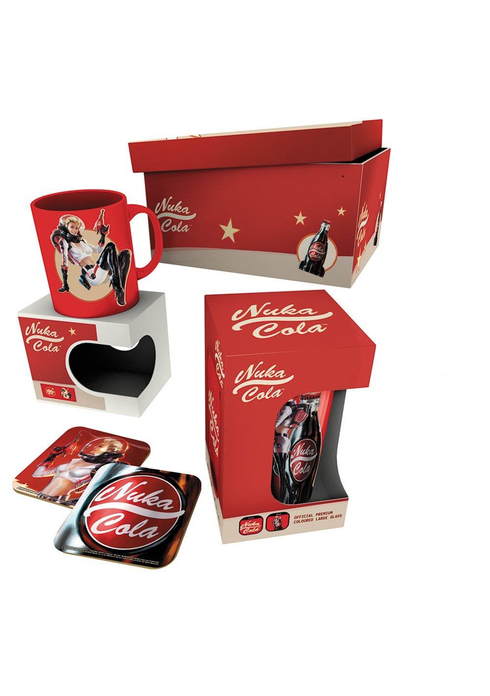 FALLOUT - Giftbox - Chope mug, & 2 dessous de verre - Nuka Cola