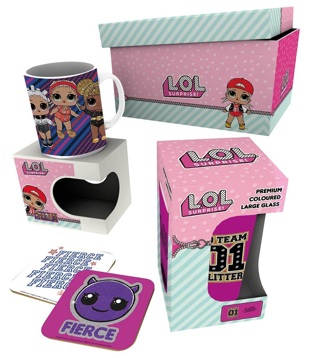 LOL Surprise - Giftbox - Chope, mug & 2 dessous de verre - Dolls