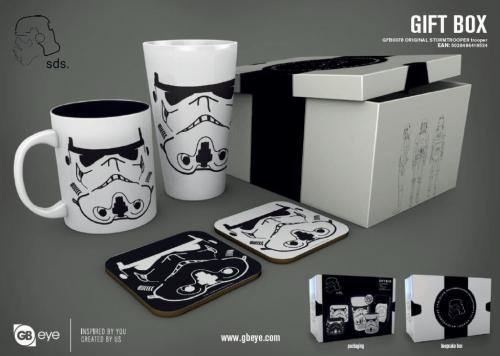 STAR WARS - Gift Box - Chope, mug, 2 dessous de verre - Stormtrooper 2