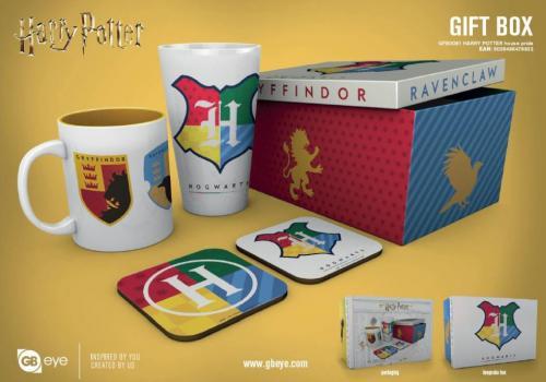 HARRY POTTER - Gift Box - Chope, mug, 2 dessous de verre - House Pride