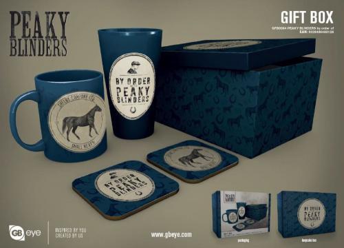 PEAKY BLINDERS - Gift Box - Chope, mug, 2 dessous de verre - By order