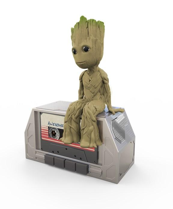 GUARDIANS OF THE GALAXY - Dancing Groot Speaker 'IHome' - 28cm