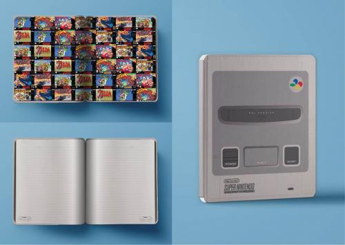 NINTENDO - Notebook - Super Nes