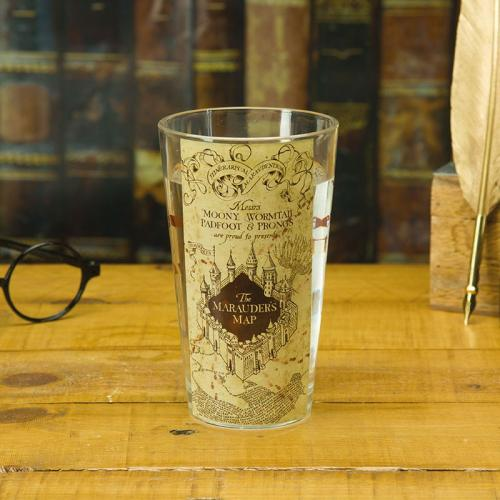 HARRY POTTER - Carte du Maraudeur - Verre 400ml