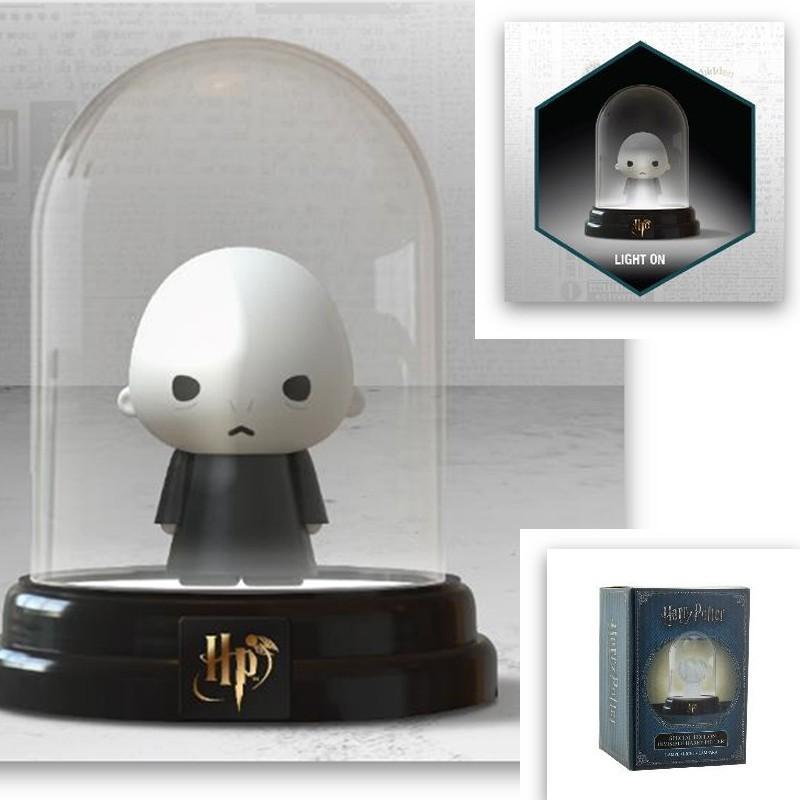 HARRY POTTER - Mini Bell Jar Light - Voldemort - 12cm