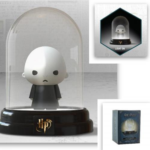 HARRY POTTER - Mini lampe sous cloche - Voldemort - 12cm