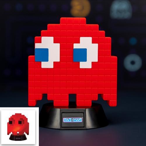 PAC-MAN - Mini Lampe Fantôme Rouge - 10cm
