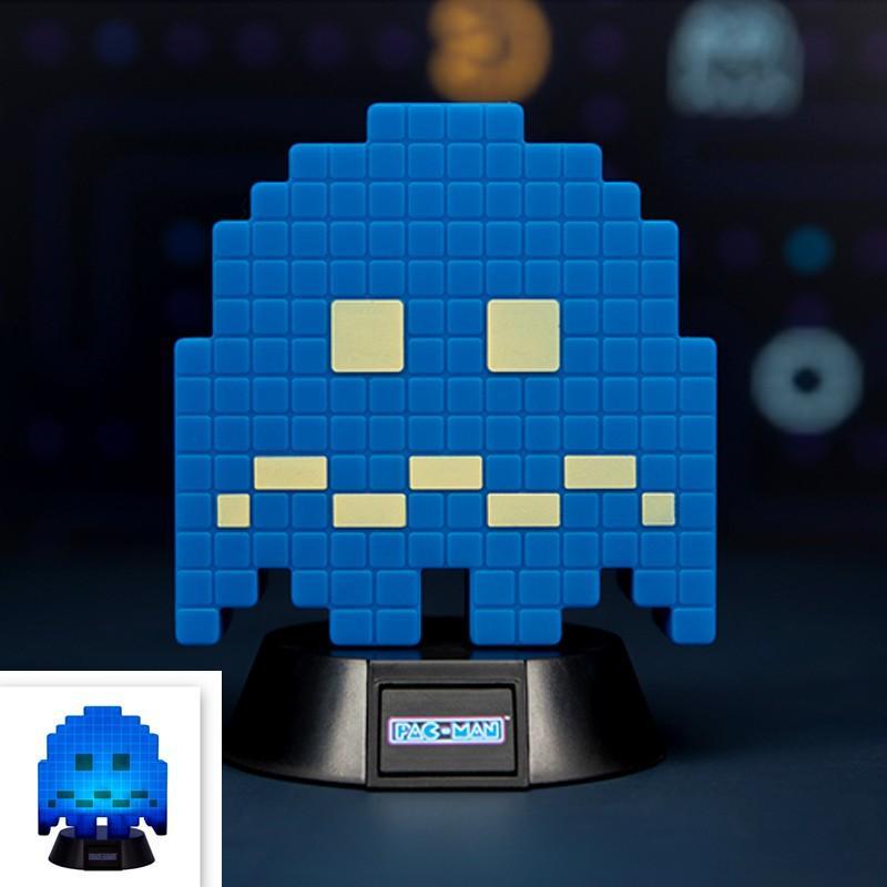 PAC-MAN - Mini Lampe Fantôme Bleu - 10cm