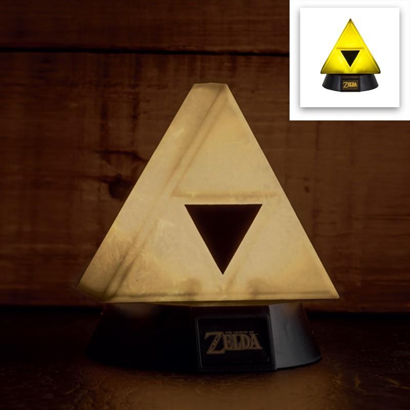 ZELDA - Gold Triforce 3D Mini Light - 10cm