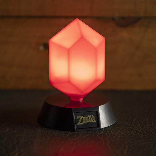 ZELDA - Icon Light - Rupee Rouge - 10cm