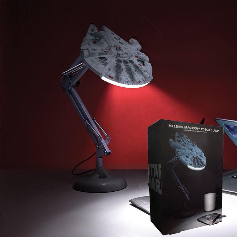 STAR WARS - Lampe de Bureau - Faucon Millenium