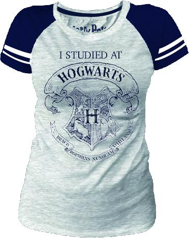 HARRY POTTER - T-Shirt KIDS I Stidied at ... - GIRLY (10 ans/140cm)