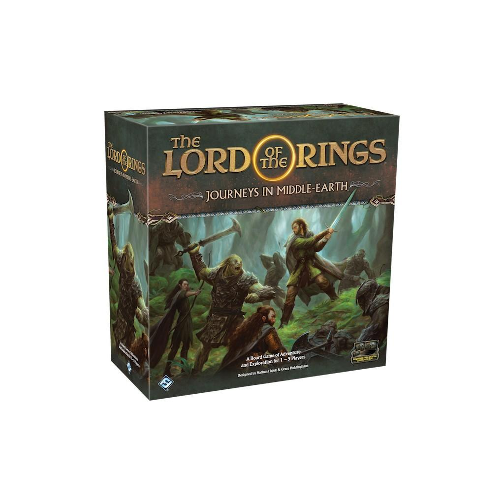 THE LORDS OF THE RINGS - Board Game - Journey in Middle Earth 'V. Ang'