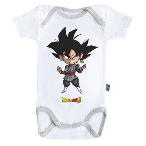 DRAGON BALL SUPER - Body Bébé - Black Goku (3-6 Mois)