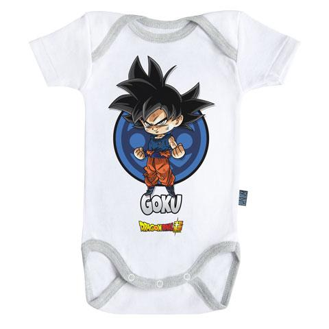DRAGON BALL SUPER - Body Bébé - Goku (3-6 Mois)