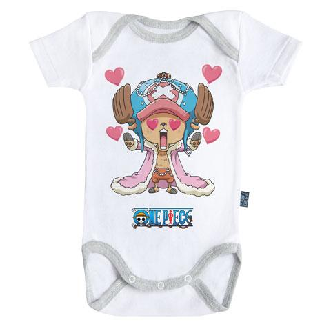 ONE PIECE - Body Bébé - Chopper (3-6 Mois)