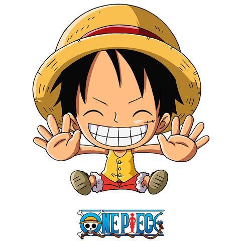 ONE PIECE - Body Bébé - Luffy Free Hugs (3-6 Mois)_2