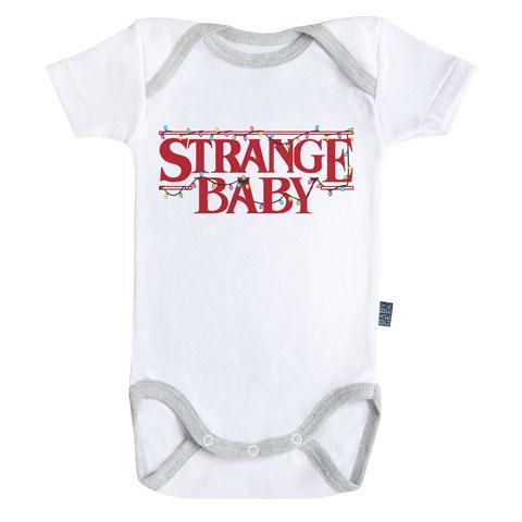 STRANGER THINGS - Body Bébé - Stranger Baby - (3-6 Mois)