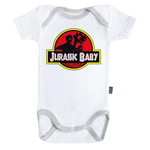 JURASSIC PARK - Body Bébé - Jurassic Baby (3-6 Mois)