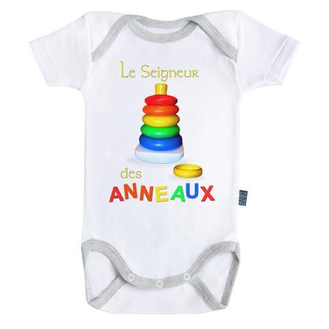 LE SEIGNEUR DES ANNEAUX - Body Bébé - (3-6 Mois)
