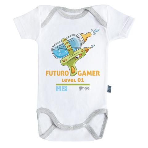 GAMING - Body Bébé - Futur Gamer (3-6 Mois)
