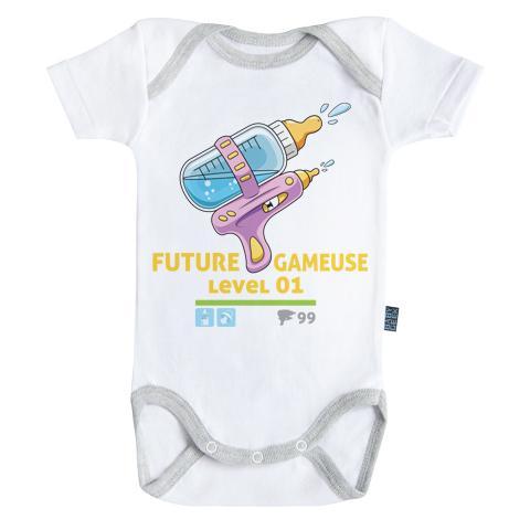 GAMING - Body Bébé - Futur Gameuse (3-6 Mois)