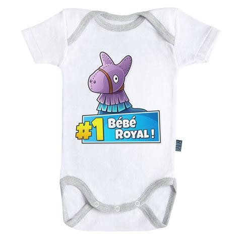 FORTNITE - Body Bébé - Bébé Royal (3-6 Mois)