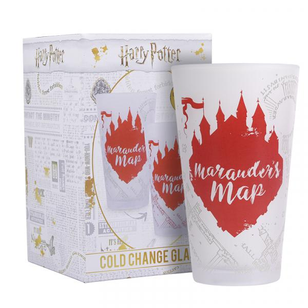 HARRY POTTER - Marauder's Map - Verre thermoréactif à froid_1