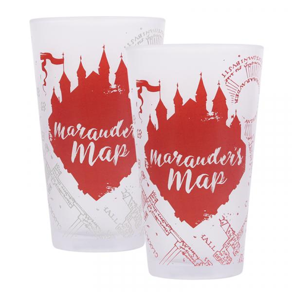 HARRY POTTER - Marauder's Map - Verre thermoréactif à froid_3