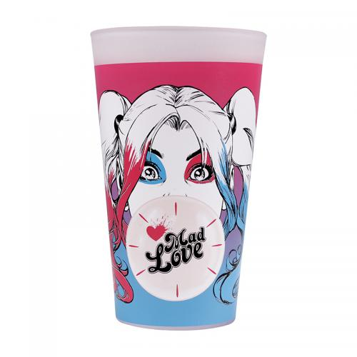 HARLEY QUINN - Mad Love - Verre thermoréactif à froid