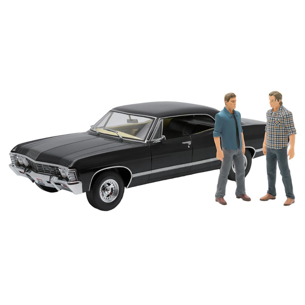 SUPERMATURAL - 1967 Chevrolet Impala 1:18 (Pack with Figures)