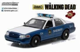 THE WALKING DEAD - 2001 Ford Crown Victoria Police - 1:18 scale