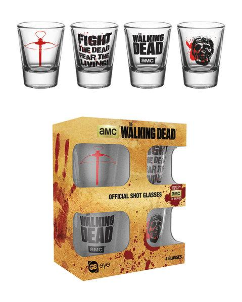 THE WALKING DEAD - Shot Glass - Symbols