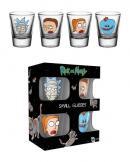 RICK & MORTY - Shot Glass - Faces