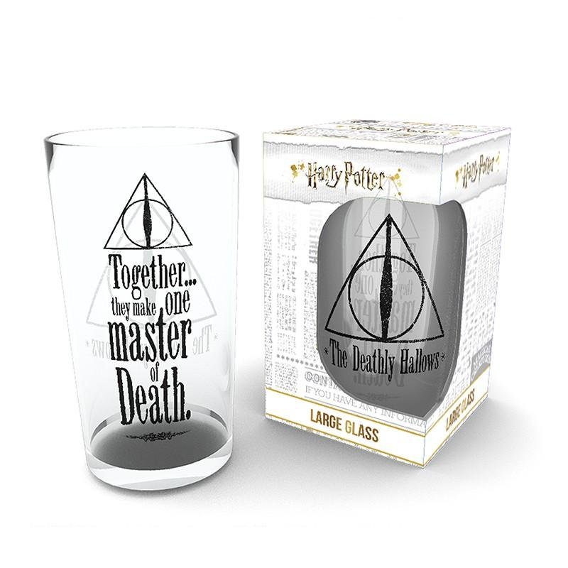 HARRY POTTER - Large Glasses 500ml - Deathly Hallows